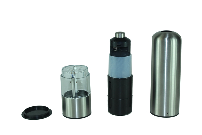 Electric Stainless Steel Salt Pepper Mill /Burnisher /Grinder /Pepper Mill