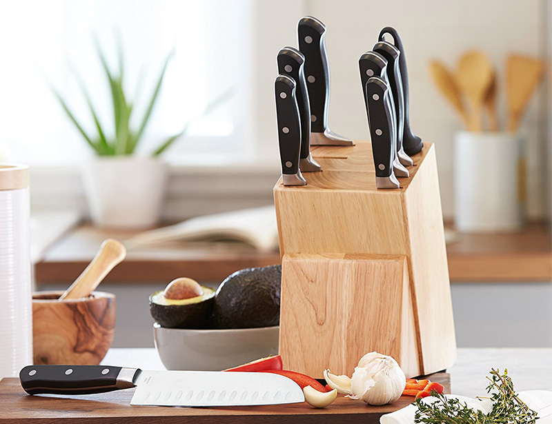 Stainless Steel 8pcs Kitchen Knife Set