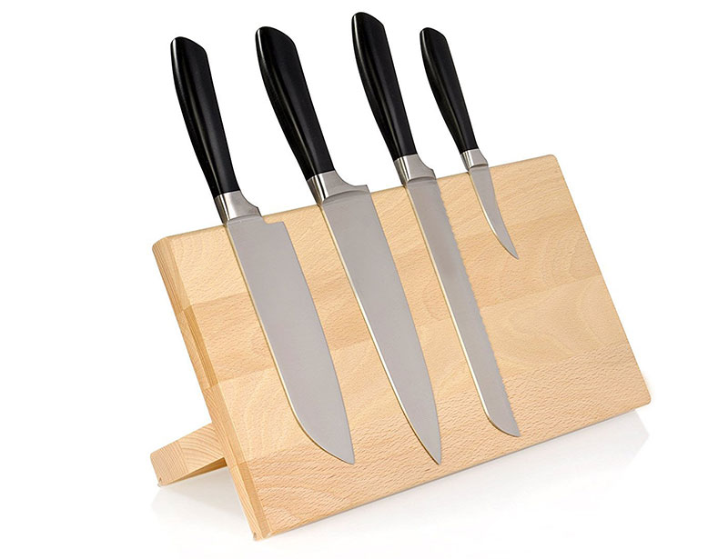 Wooden Magnetic Knife Holder