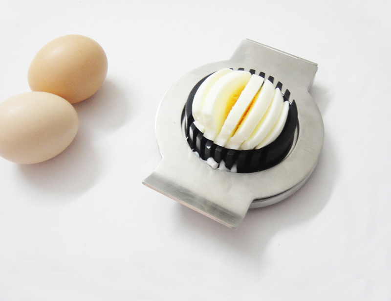 PP and Stainless Steel Egg Slicer