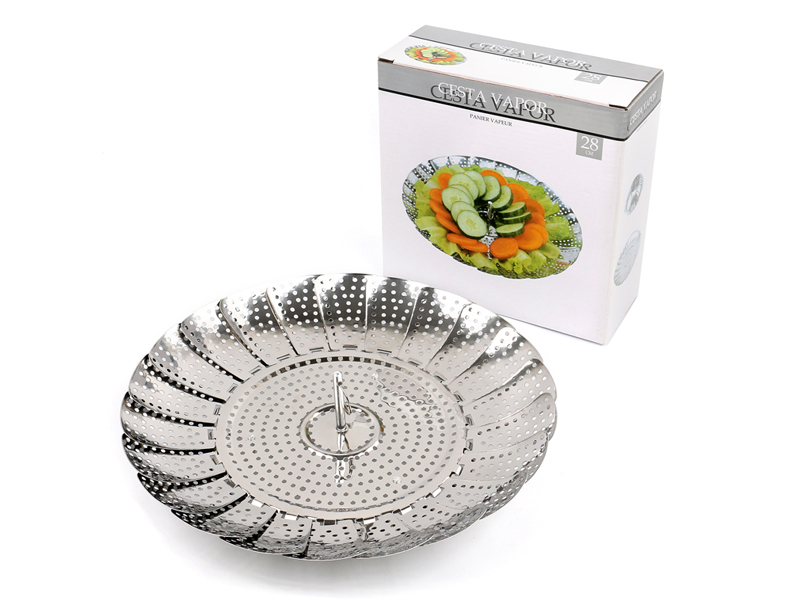 Stainless Steel Food Vegetable Steamer