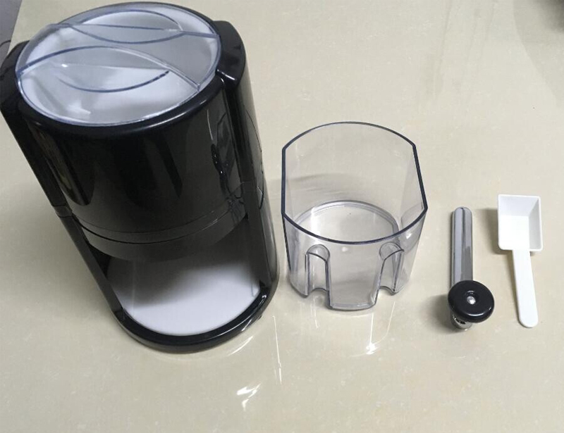 Portable Hand Crank Ice Crusher with ABS