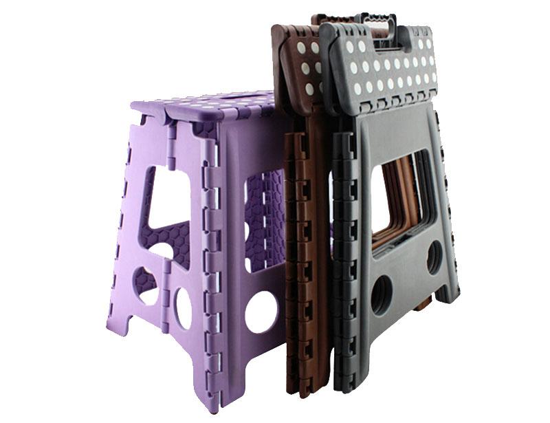 Portable Plastic Folding Stool