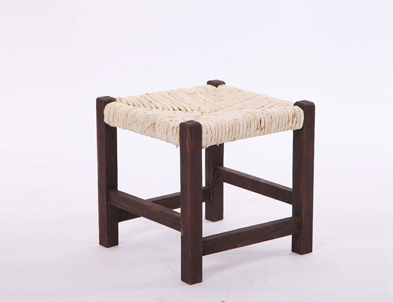 Craft Weaving Wooden Shoes Changing Stool