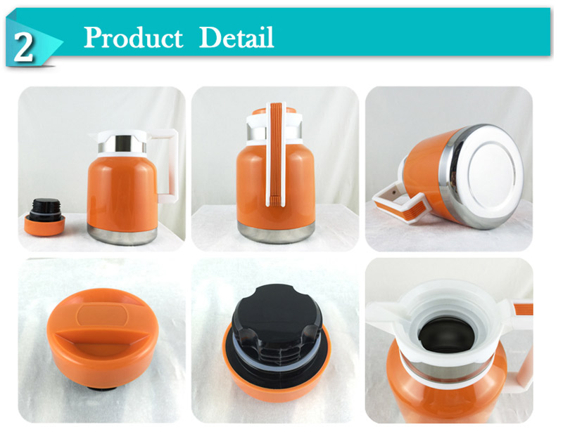 Wholesale High Vacuum Double Wall Stainless Steel Water Coffee Jug Thermos Flask