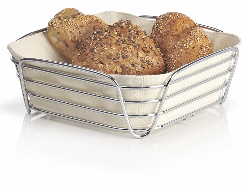 Best Selling Iron Wire Stainless Steel Cheap Bread Basket For Kitchen