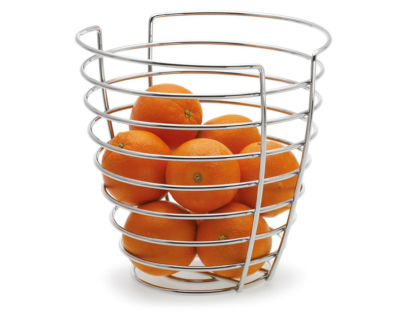Metal Wire Stainless Steel Storage Fruit Basket