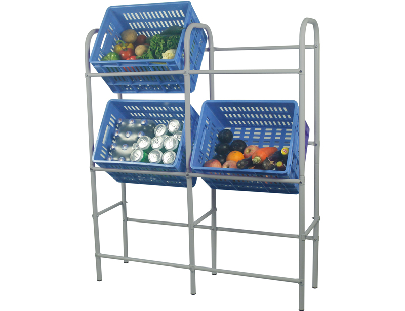 3 Tier 2 Row Bear Beverage Shelf With Stick In System