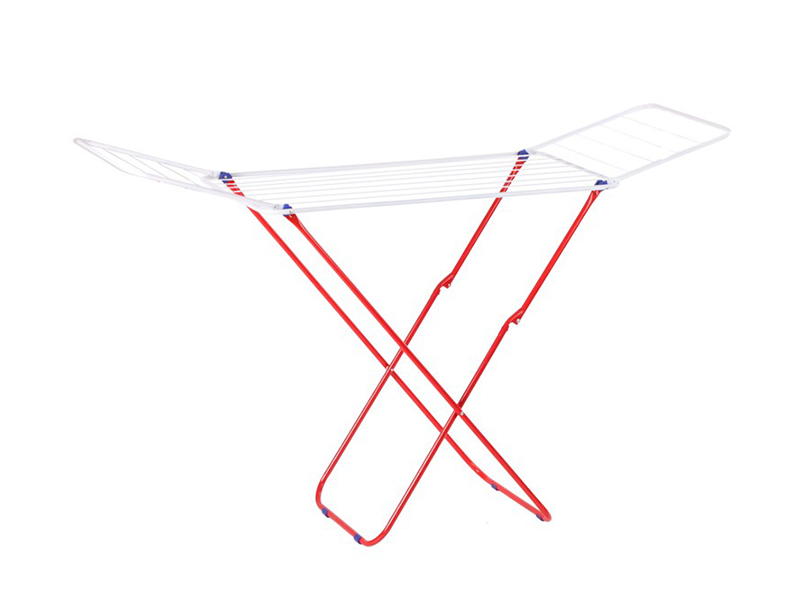 Foldable Clothes Drying Laundry Rack with Wings