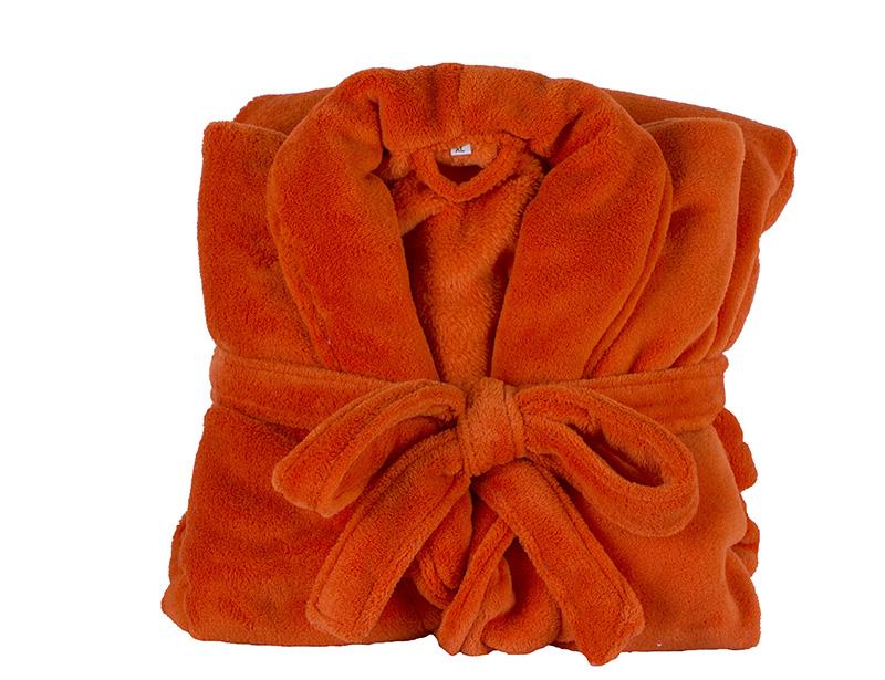 100% Polyester Coral Fleece or 100% Cotton Towel Bathrobe