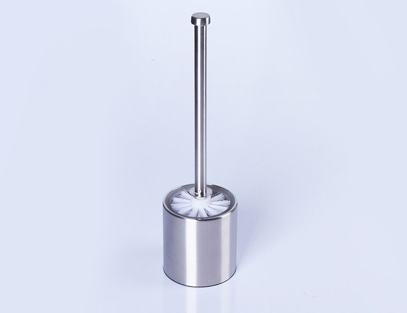 Double Layer Stainless Steel Toilet Brush Set Holder