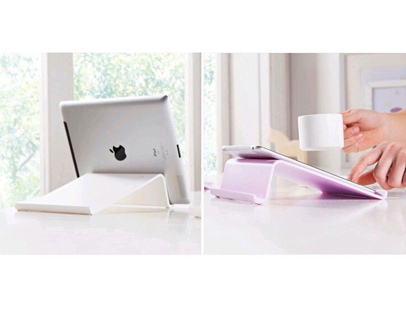 ABS Plastic Mobile Phone Tablet Desk Holder Stand For iPhone For Samsung For iPad Smart phone Tablets Stands