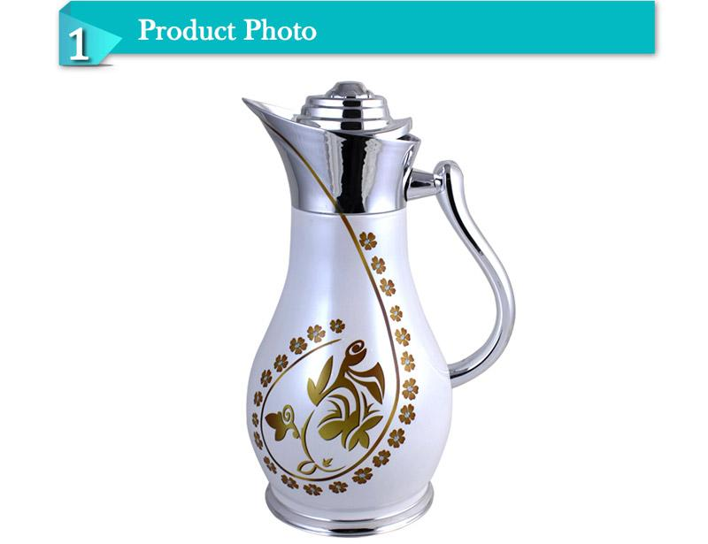 High Class Promotional Pattern Glass Inner Vacuum Jug for Sale