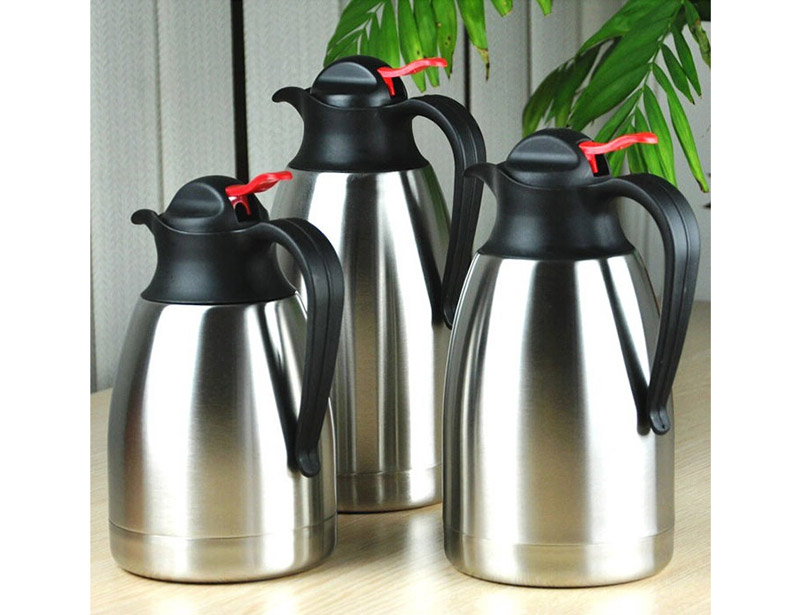 Durable Design Double Wall Stainless Steel Vacuum Goose Neck Coffee Kettle Thermos Flask