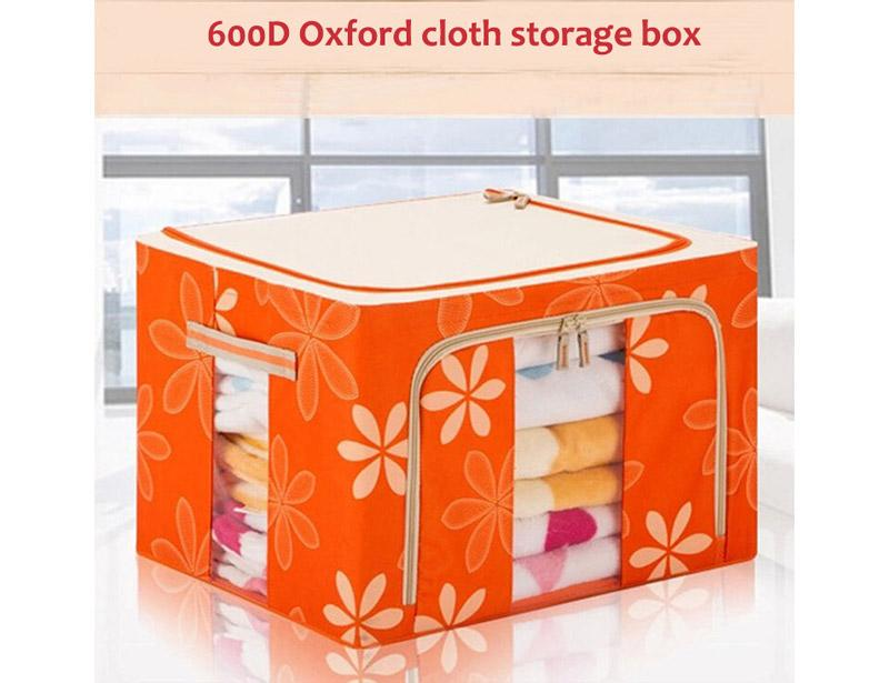 Foldable Fabric Storage Box with 600D Oxford Cloth
