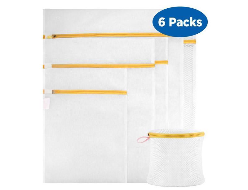6PCS Clothes Washing Mesh Bag for Washing Machine