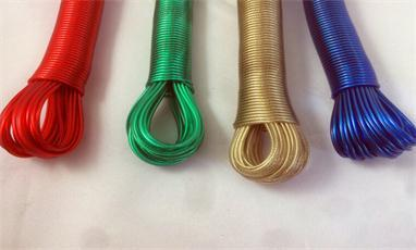 How to choose an outdoor clothes hanging rope?