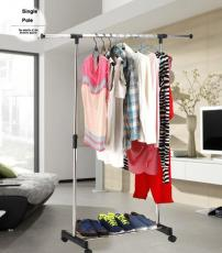 Why not use clothes drying rack to dry your clothes?