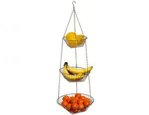 The features of 3 tier wire hanging fruit basket