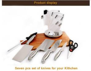How to sharpen your kitchen knife set?