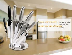 We can wholesale stainless steel kitchen knife set