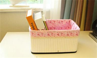 Do You Really Know The Bamboo Storage Basket With Fabric?